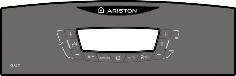 Изображение пульта управления Ariston CARES