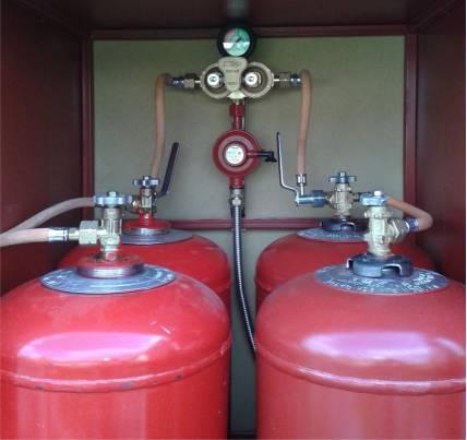 Фото баллонов с газом для газового котла