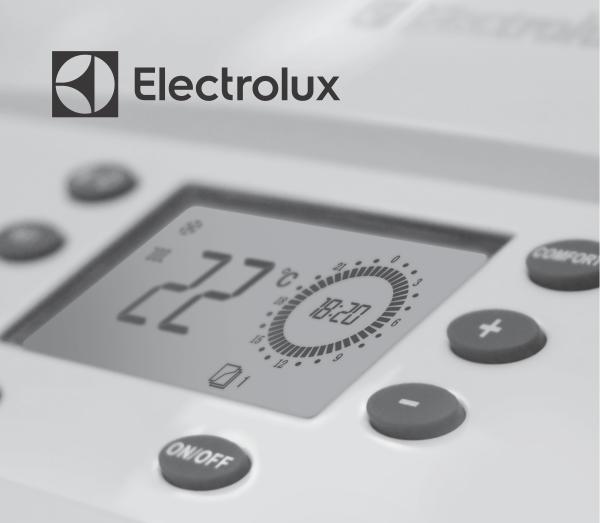 Фото дисплея управления котлом Electrolux Basic