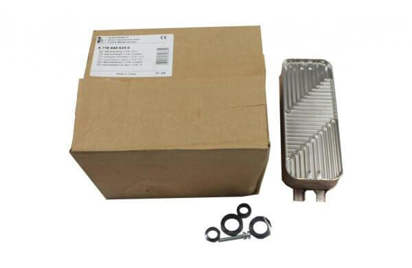 Комплект поставки вторичного теплообменника U072-24K (87186446250) Buderus Logamax
