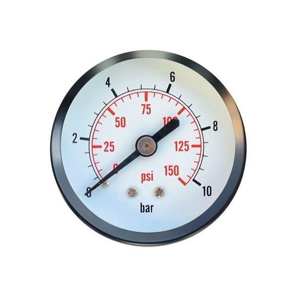 Манометр показывает, нет давления в системе отопления.