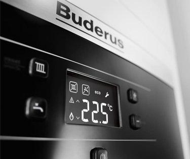 Дисплей газового котла Buderus U072