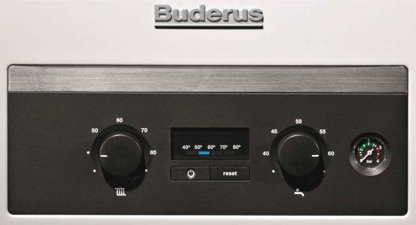 Горит второй индикатор на панели управления котлом Buderu U044
