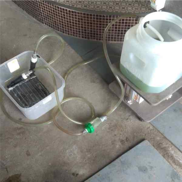 промывка основного теплообменника котла Navien
