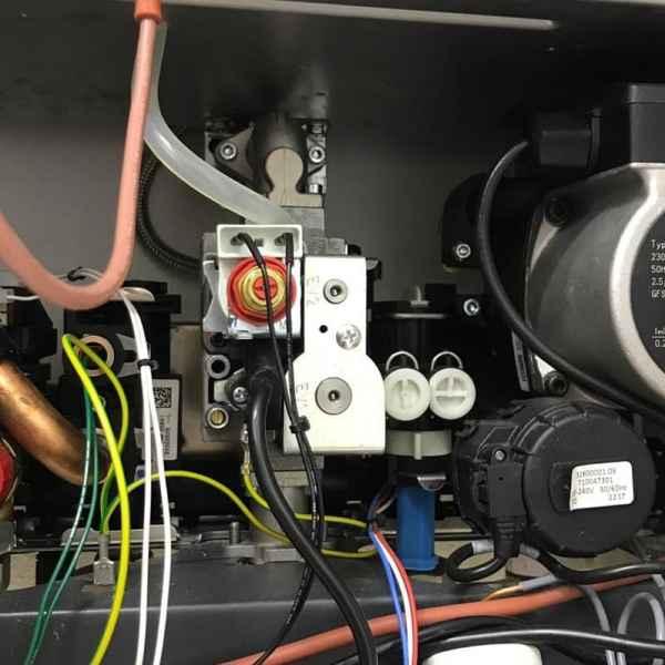 Газовый клапан котла Baxi