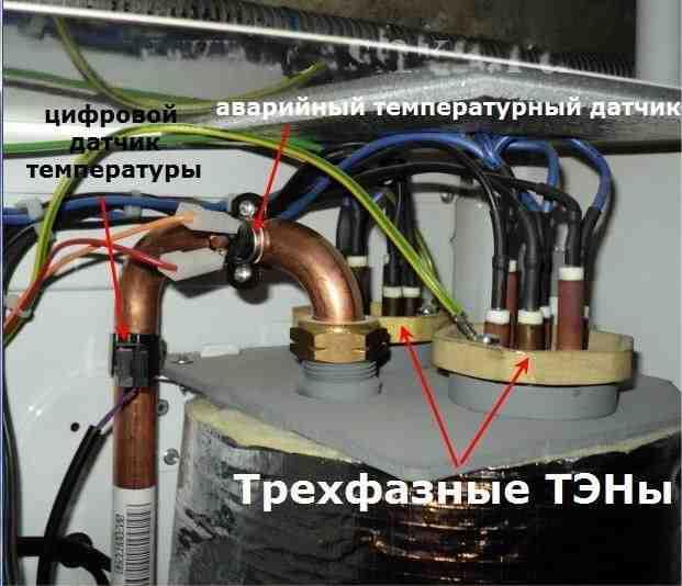 Проверка термостата в котле Protherm Скат