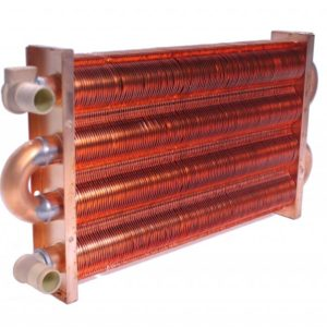Теплообменник для модели : 350-400 MSC (147 ребра)