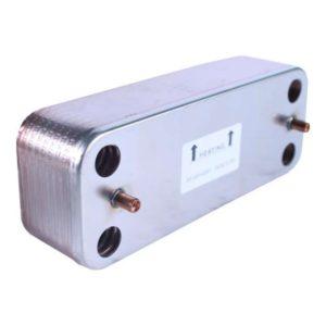 Теплообменник ГВС 16 пластин DIVAtop micro/DIVAtech/DIVA C/F 28-32 (39835630) (37405130)