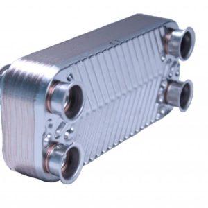 Теплообменник ГВС (для моделей 100-200ICH) 12 ребер