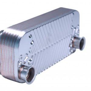 Теплообменник ГВС (для моделей 100-200MSC) 12 ребер