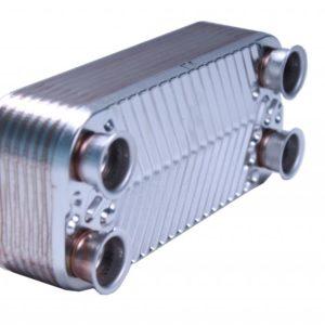 Теплообменник ГВС (для моделей 250-300KFC) 16 ребер