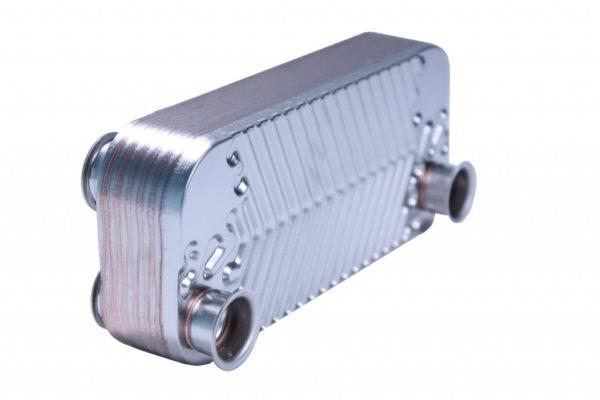 Теплообменник ГВС (для модели 350-400 MSC) 18 ребер