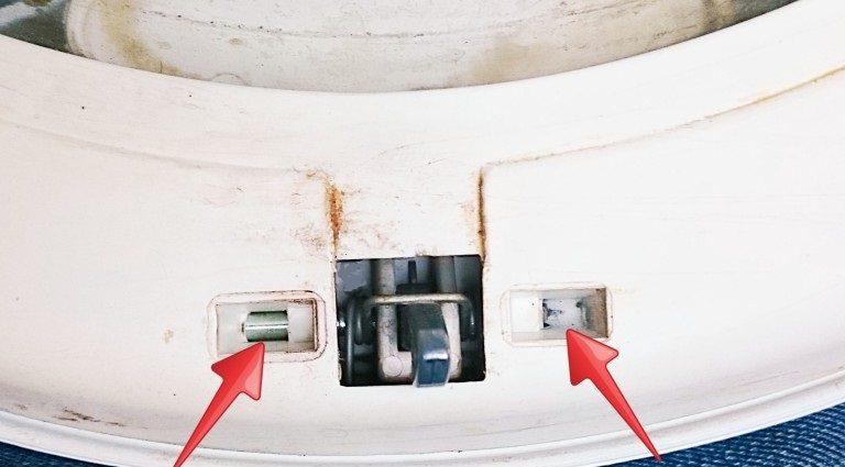 Механизм замка стиральной машины indesit