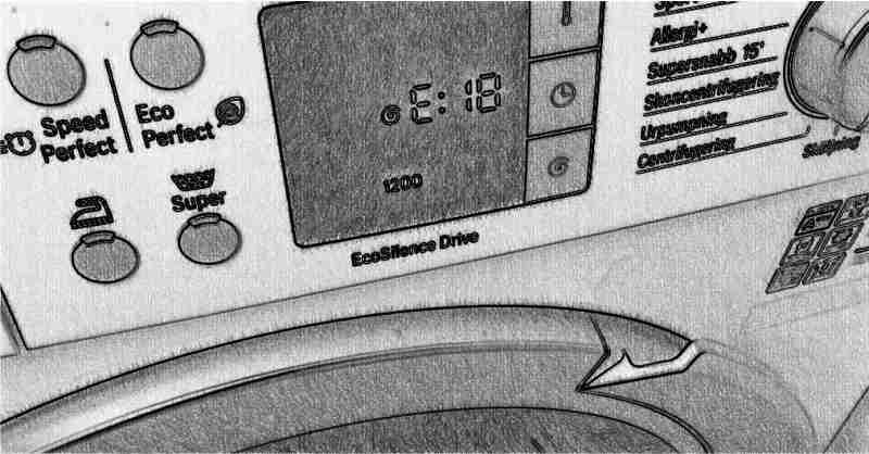 Панель управления стиральной машины Bosch
