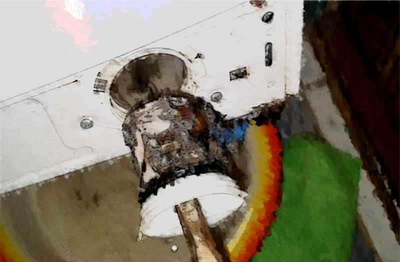 Сливной фильтр стиральной машины Bosch
