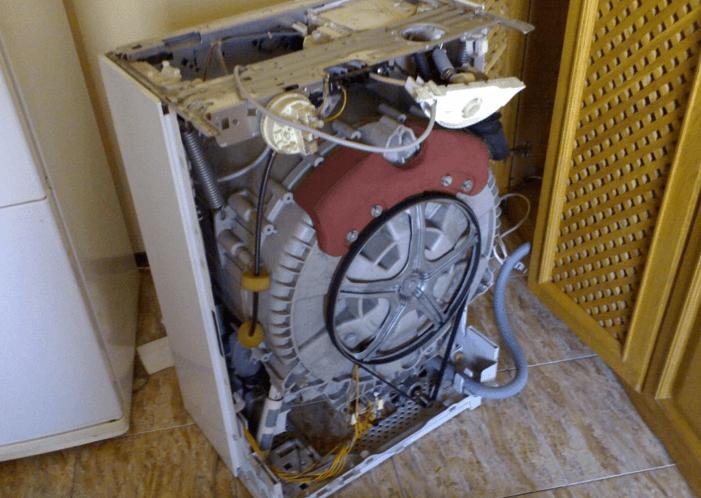 Замените ремень привода стиральной машины Bosch