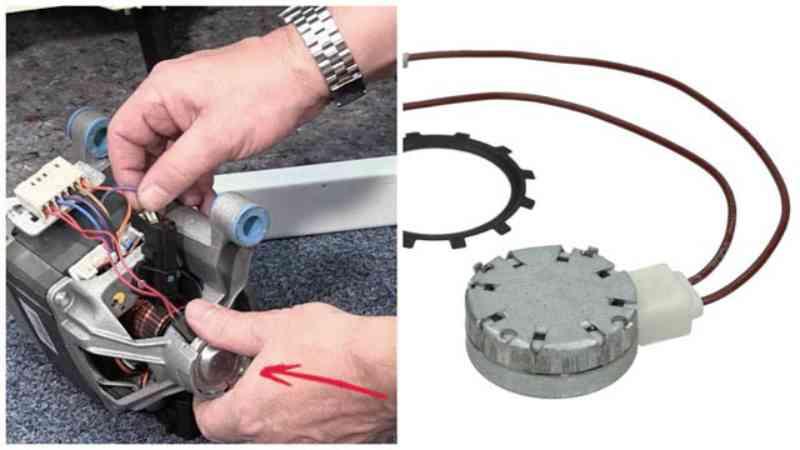 Двигатель и датчик стиральной машины Bosch