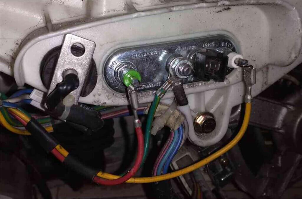Проверьте электрику стиральной машины LG