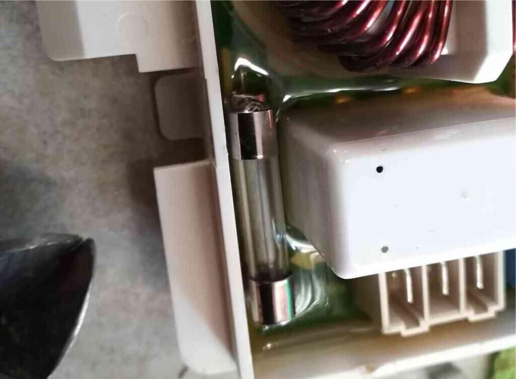 Ошибки стиральной машины LG